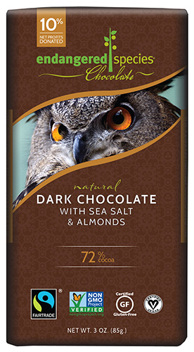 Dark Chocolate with Sea Salt & Almonds