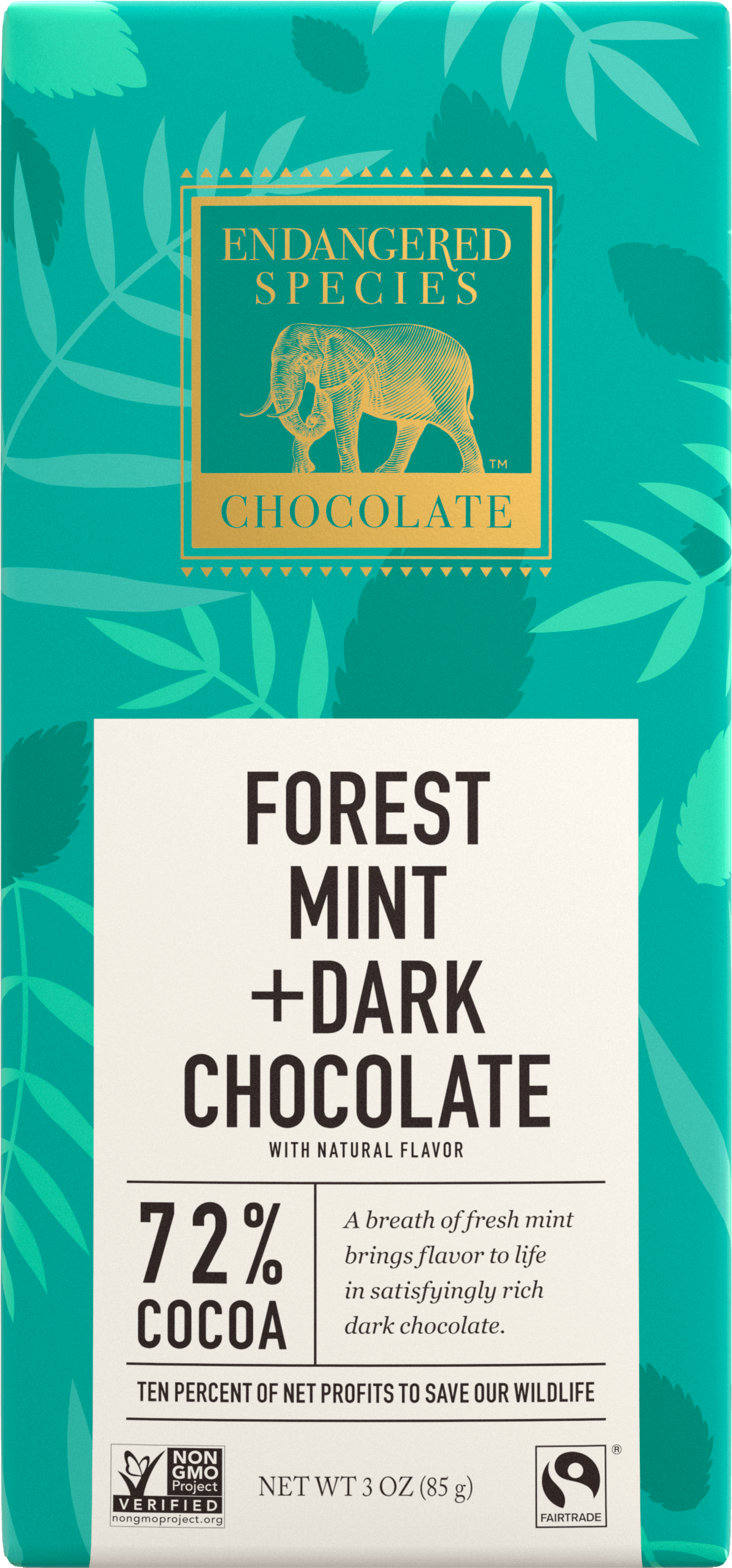 Endangered Species Chocolate Mint Bar