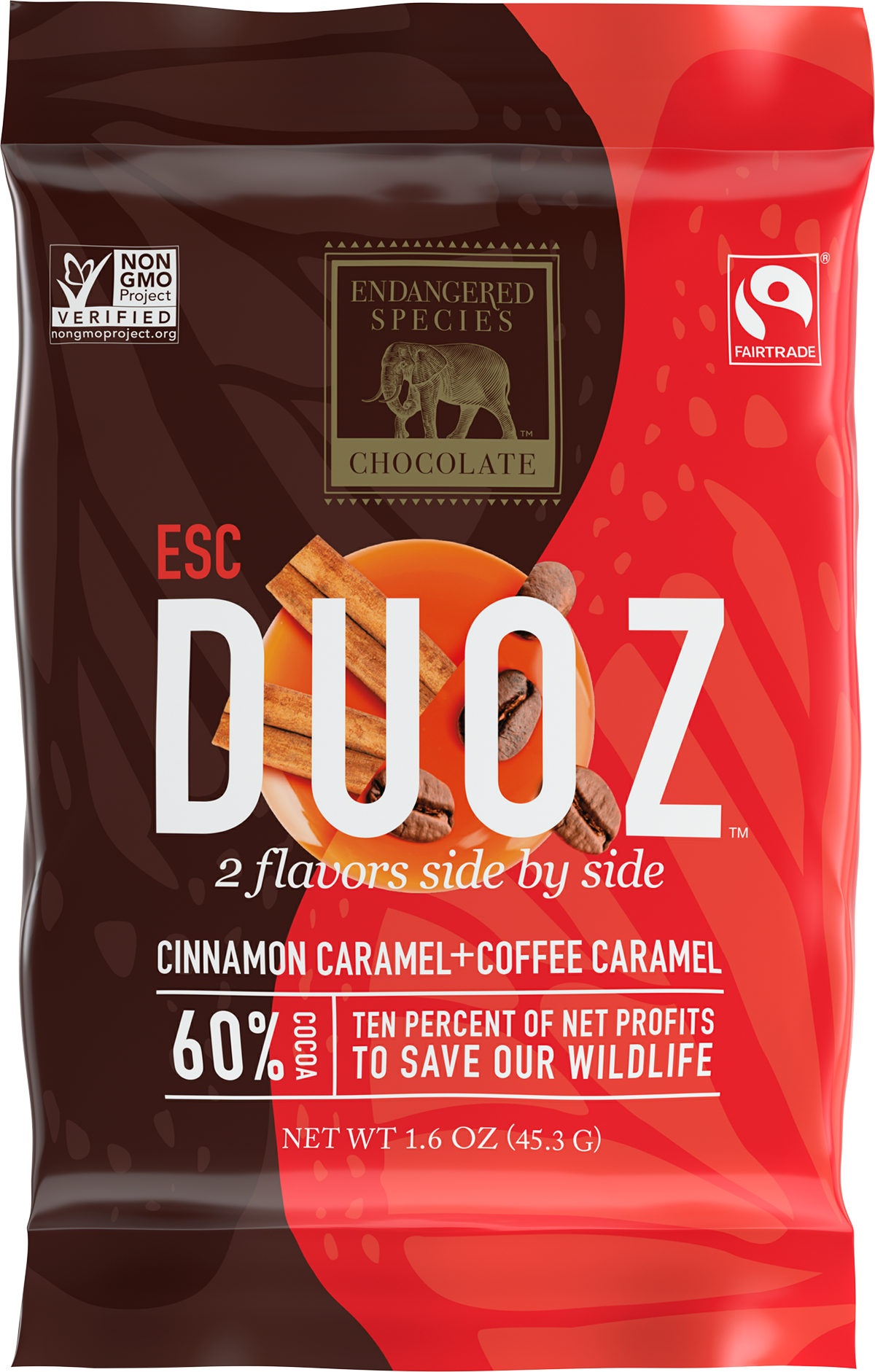 Duoz cinnamon caramel coffee