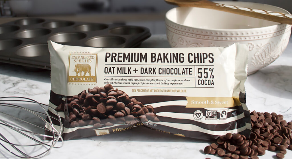 Oat Milk Chocolate Chips Baking Image