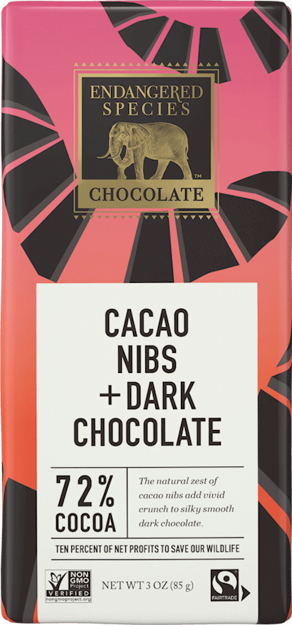 72% Dark Chocolate with Cocoa Nibs